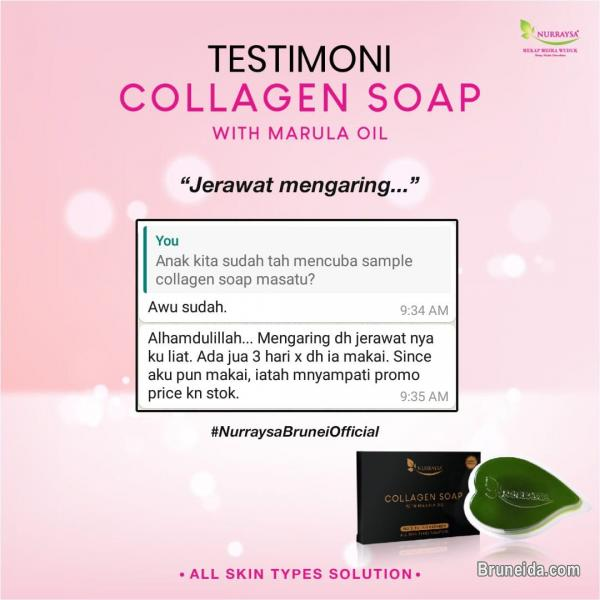 Picture of Collagen Soap with Marula Oil Nurraysa