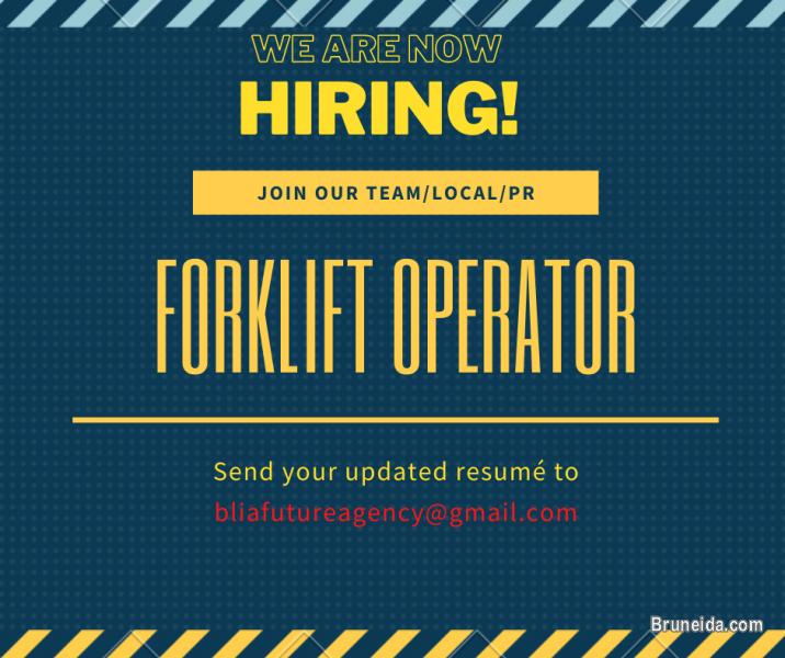 Picture of FORKLIFT OPERATOR WANTED