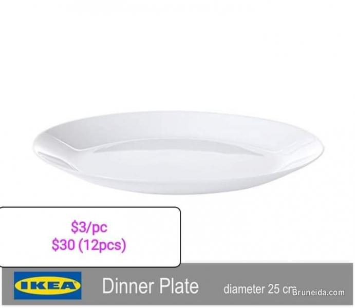 Pictures of IKEA meal-ware items for sale! All instock