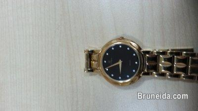 Gold titoni watch for sell