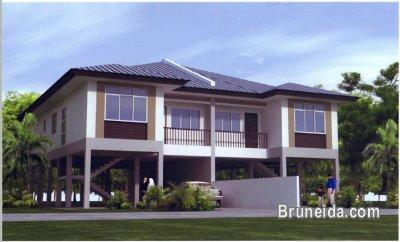Ongoing stilt semi detached in kg junjungan houses for for Stilt homes for sale