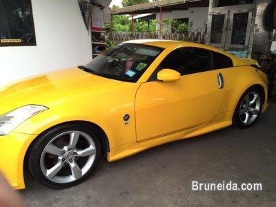 2010 Nissan 350z Auto Yellow Image 1