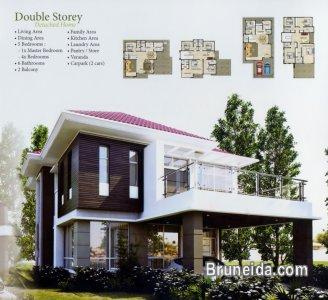 3 storey terrace house the palm tanah jambu brunei for 3 storey terrace house