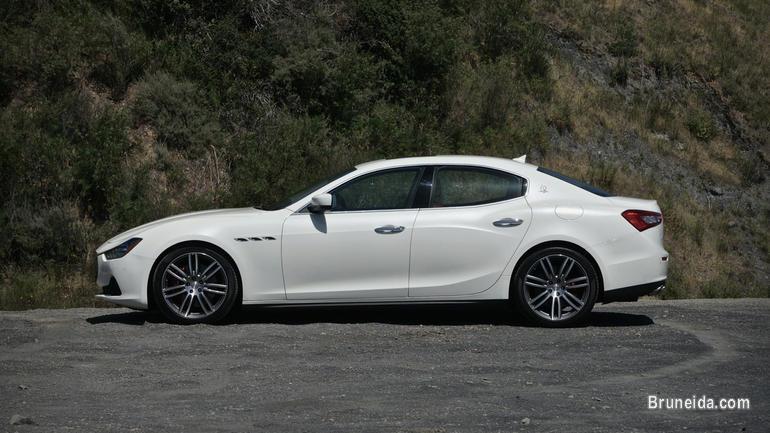 Maserati Ghibli S Auto White