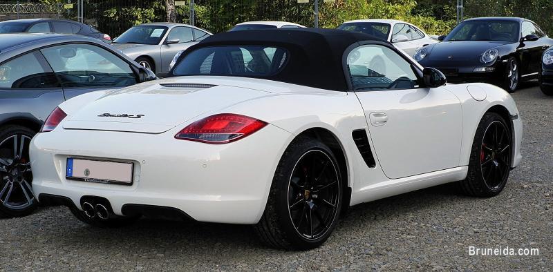 2010 Porsche Boxster Soft Top Carrera White - image 2