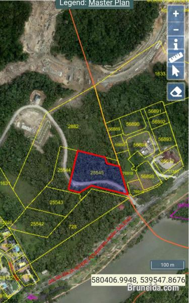 Pictures of Land for sale infront of istana nurul iman.
