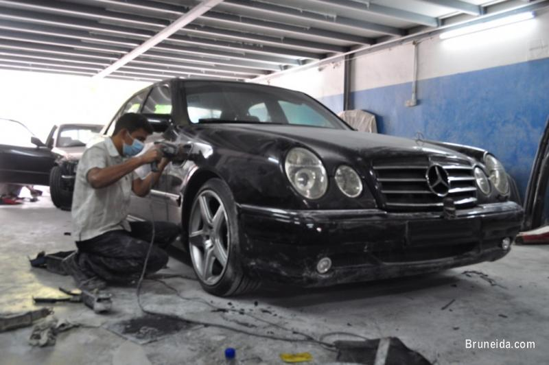 Picture of Mercedes Benz E Class W210 E55 AMG Bodykit