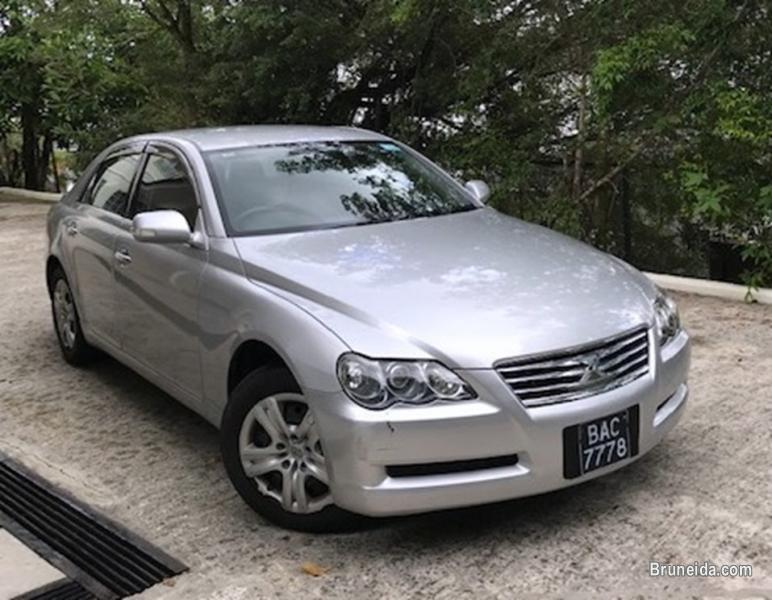 Picture of Toyota Mark X for sale. Good condition.
