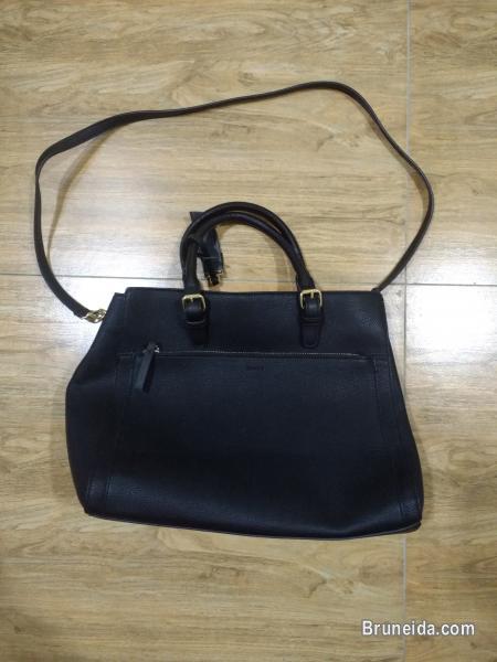 Authentic Mango Leather City Bag - image 1