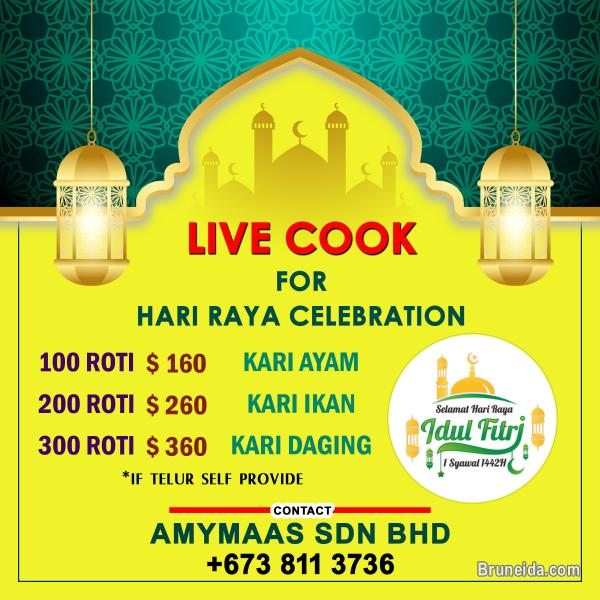 Picture of Live Cooking for Hari Raya Celebration