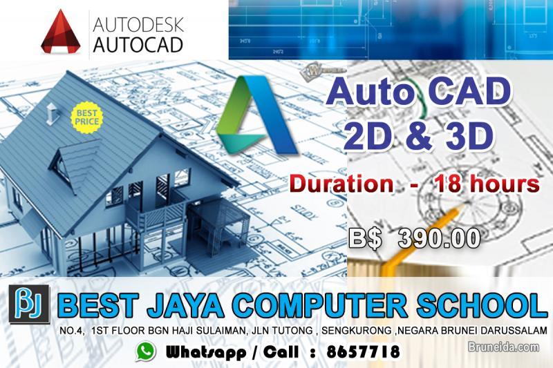 Picture of AUTO CAD 2D & 3D