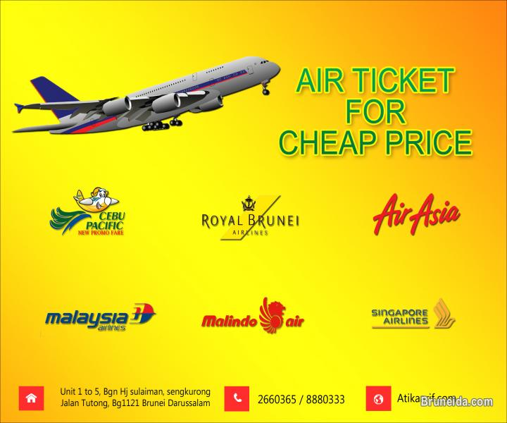Picture of Cheap rate Airline ticket @ now