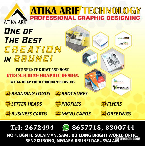 Picture of ATIKA ARIF TECHNOLOGY ! GRAPHIC DESIGNS !!