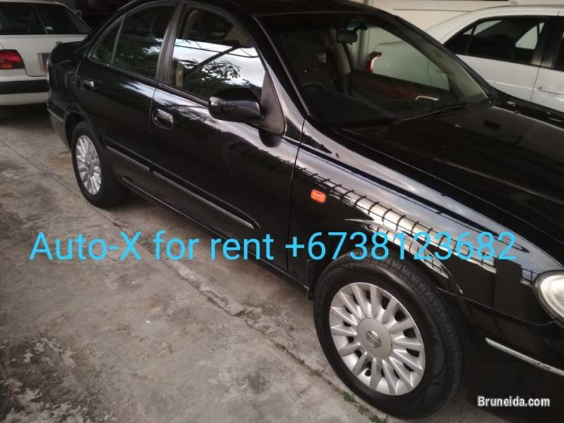 Picture of Nissan Sunny 2. 0 Auto For Rent. Kereta Sewa Brunei Murah!