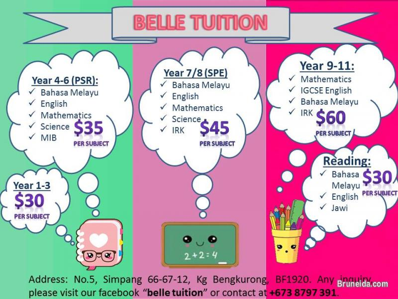 Picture of Belle Tuition