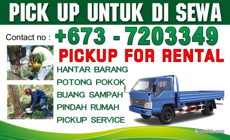 Picture of PICKUP SERVICE IN BRUNEI - LOW PRICE - CALL : 7203349