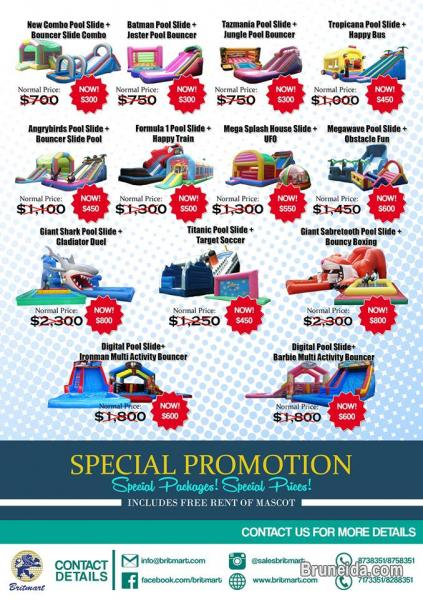 Pictures of FANTASTIC PROMOTION! SPECIAL PACKAGES! SPECIAL PRICES!