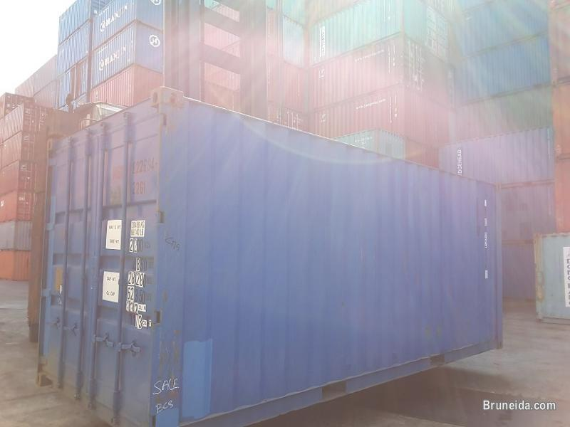 Picture of Used containers for sell at Muara!