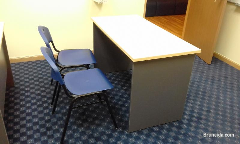 Picture of Desk and chairs: child study area/home office