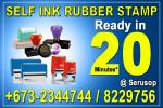 Self Ink Rubber Stamp