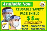 face Shield mask Corona Safe