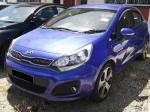 2013 KIA RIO (Auto) Hatchback Auto Blue