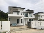 NEWLY COMPLETED TWO STOREY DETACHED HOUSE at KG SUBOK