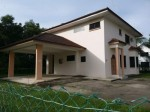 Detached house, big compund for rent