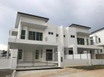 COMPLETED TWO STOREY SEMI DETACHED HOUSE IN SUBOK