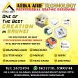 ATIKA ARIF TECHNOLOGY ! GRAPHIC DESIGNS !!