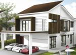 LAST UNIT! of 2-storey Detached House at Kg Kupang, Tutong
