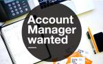 Accounts Manager - Immediate Vacancy