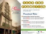 Room Promotion Until 31st December 2016