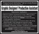 Graphic Designer / Production Assistant