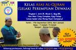 Kelas Asas Al-Quran Dewasa