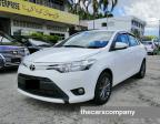 Toyota Vios 1. 5 auto Dual vvti engine model2016