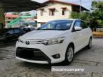 Toyota vios 1. 5 manual model2015