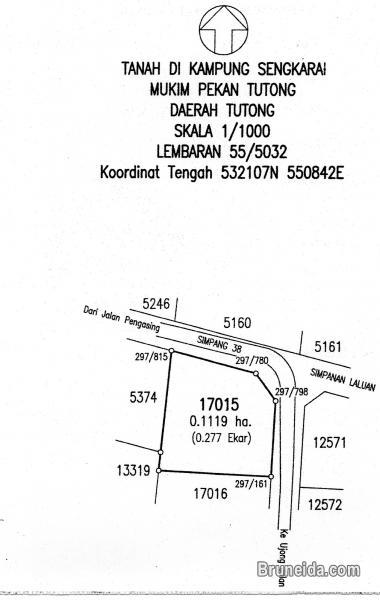 Picture of Land for sale at Kg Sengkarai, Tutong