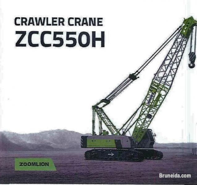Picture of Crawler Crane ZCC550H for RENT