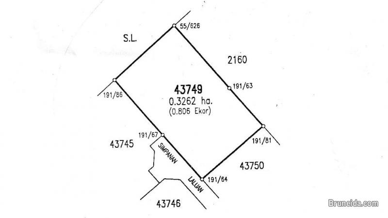 Picture of TANAH UNTUK DIJUAL / LAND FOR SALE (0. 3262 Hectare)