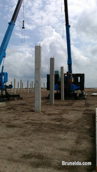 Pictures of piling jack in pile services