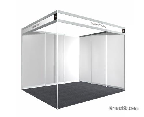 Picture of 3M X 3M (Standard Size) Trade Show Booth for Sale