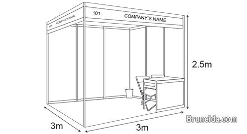 3M X 3M (Standard Size) Trade Show Booth for Sale / Rent