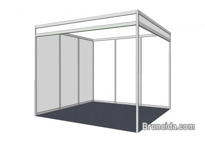 3M X 3M (Standard Size) Trade Show Booth for Sale / Rent in Brunei Muara