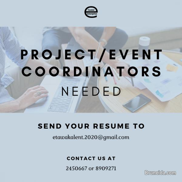 Picture of LOOKING FOR PROJECT/EVENT COORDINATORS