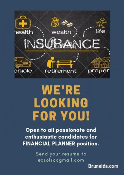 Pictures of Looking for Potential Financial Planner in Insurance Industry