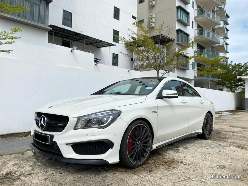 Picture of Mercedes CLA45 AMG