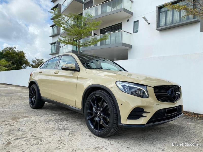 Pictures of Mercedes GLC43 AMG Coupe