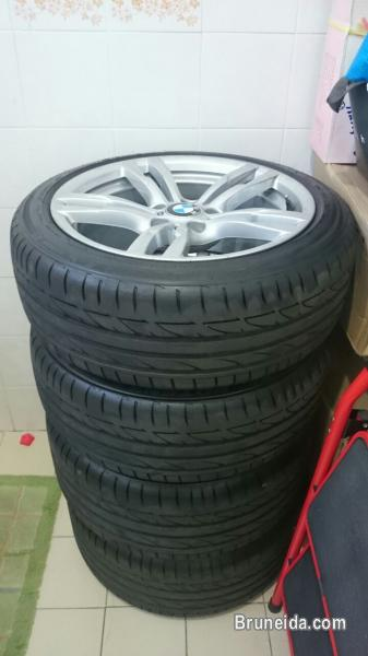 Original BMW M Performance Rims with Tyres For Sale!