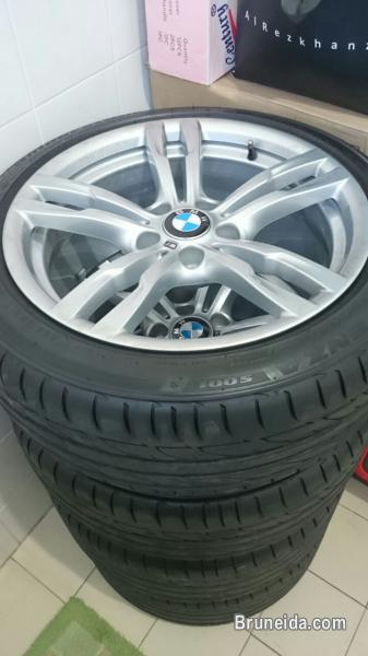 Original BMW M Performance Rims with Tyres For Sale! in Belait